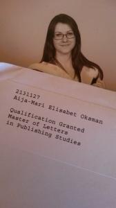 Aija Oksman, MLitt Publishing